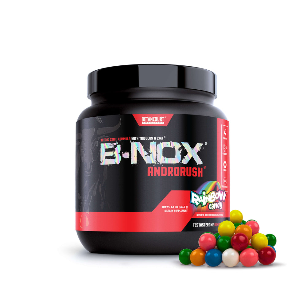 B-NOX ANDRORUSH - 35 SERV <br> PRE-WORKOUT & TESTOSTERONE BOOSTER
