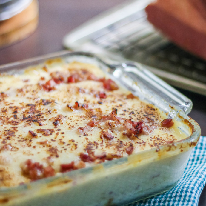 Ham & Scalloped Potatoes