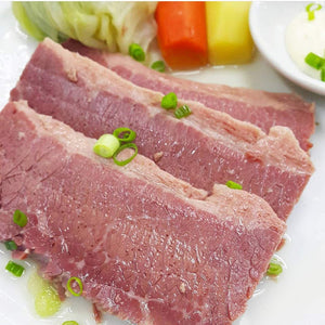 Boiled Angus Corned Beef - Frozen, Single Serving - The Plaza Catering