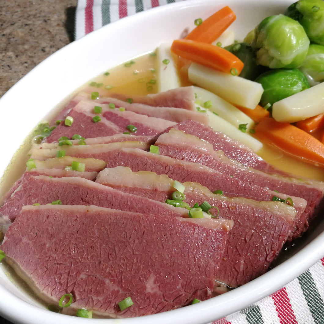 Boiled Angus Corned Beef