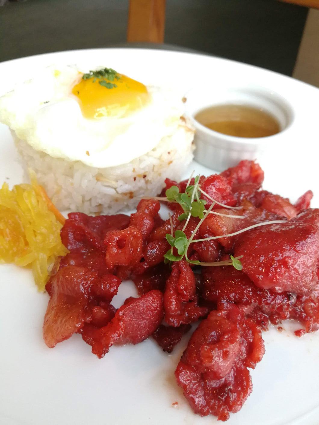 Pork Tocino - The Plaza Catering