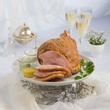 Load image into Gallery viewer, The Plaza Premium Baked Ham - Ham leg, Bone in - The Plaza Catering