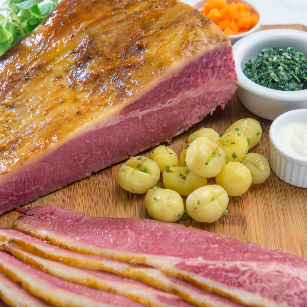Roast Angus Corned Beef - The Plaza Catering