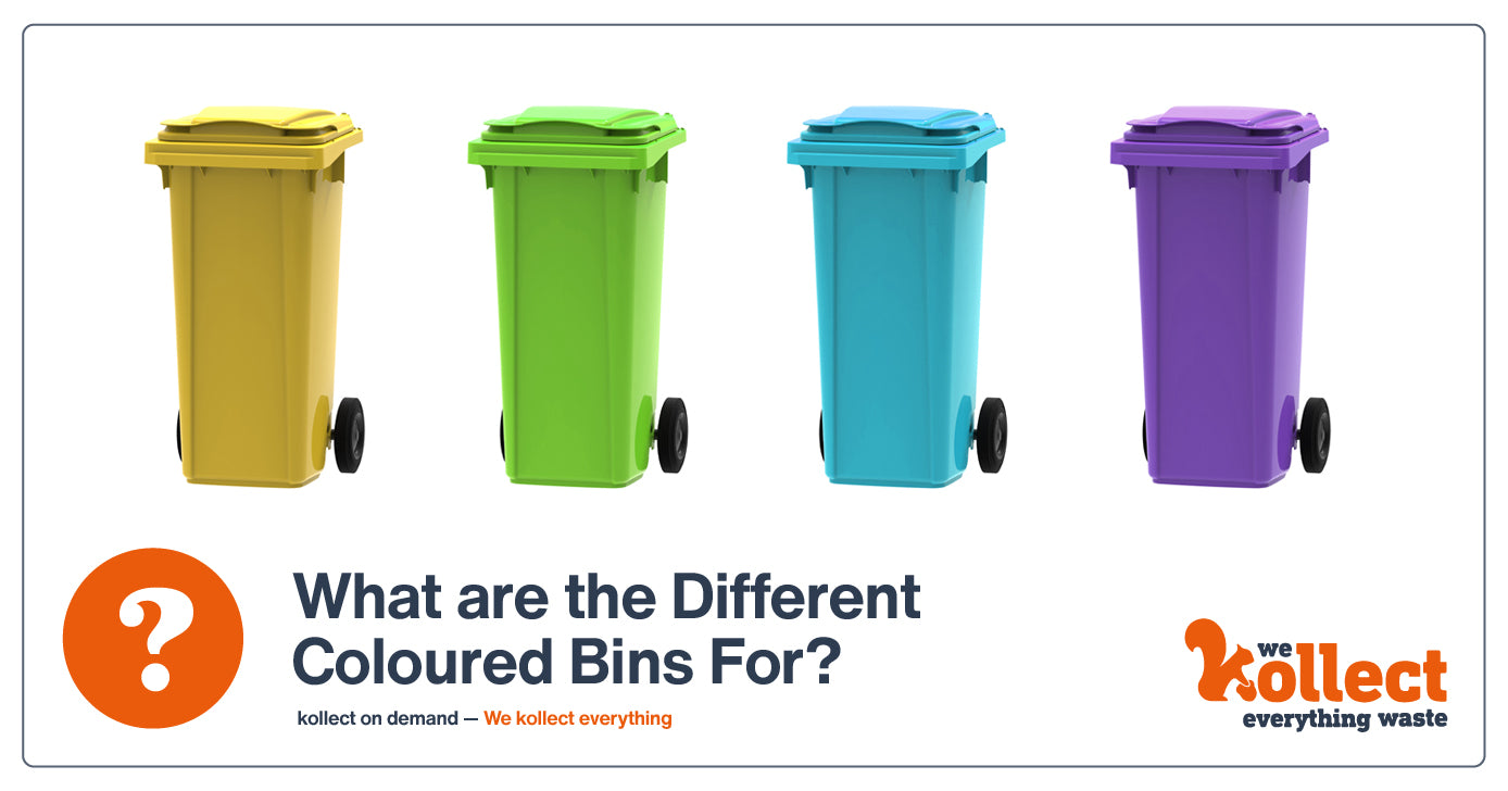 What Are the Different Coloured Bins For?