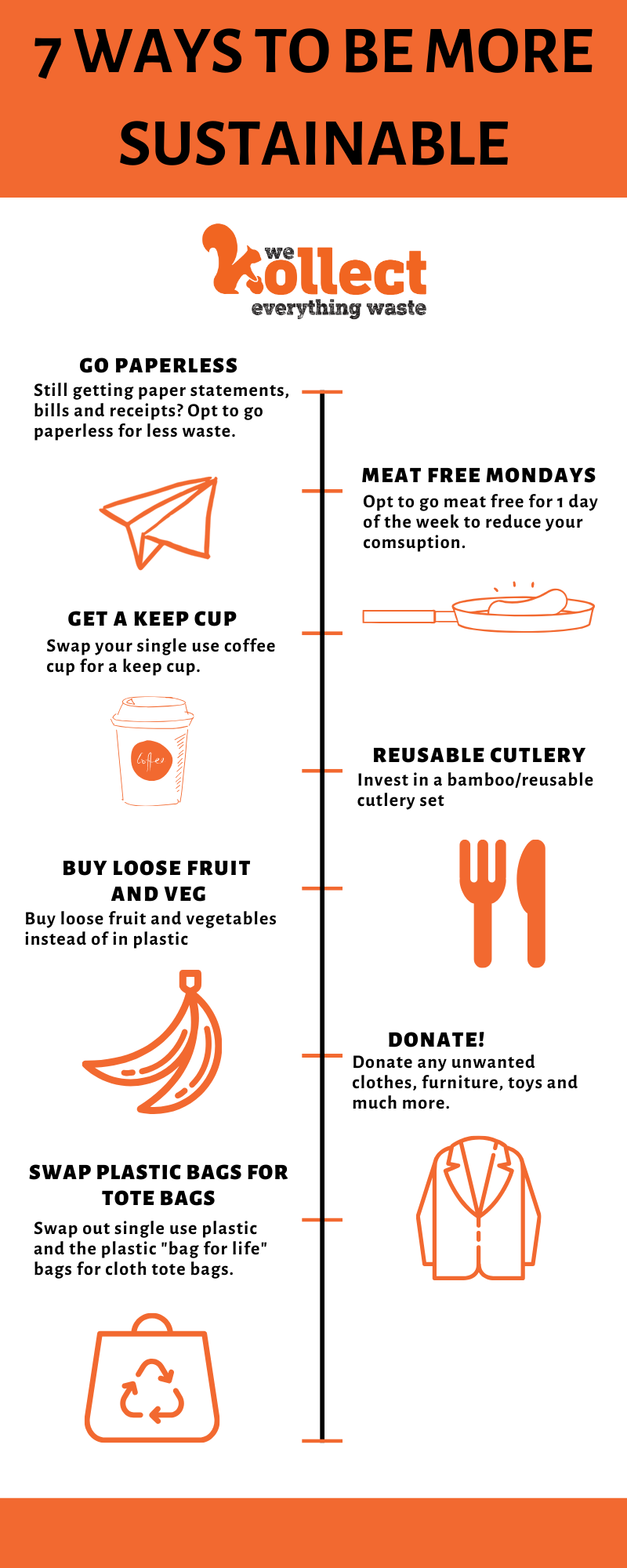 7 Ways To Be More Sustainable