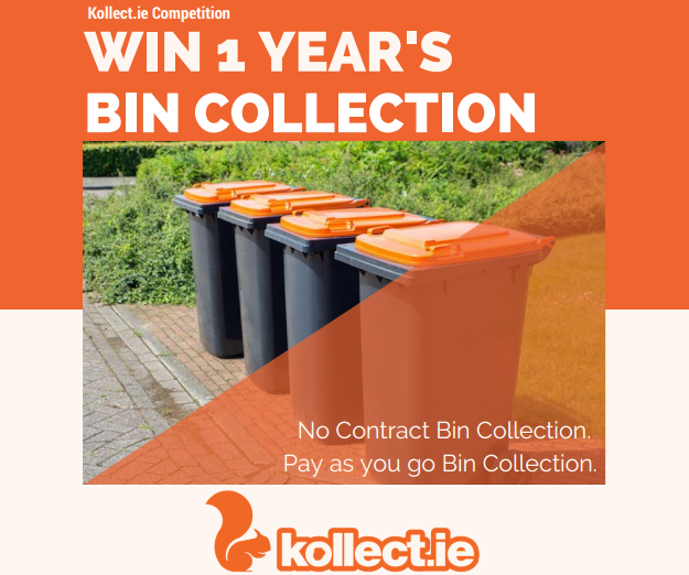 Win 1 Year's Bin Collection with Kollect - Giving back to our Valued Customers