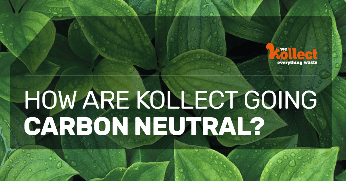 How Are Kollect Going Carbon Neutral?