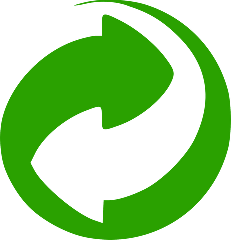 green recycling dot