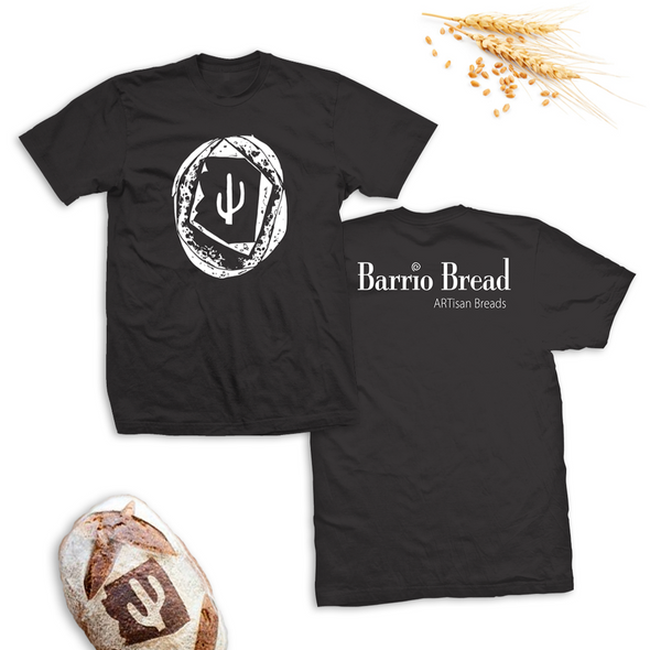 """Barrio Bread"" - Dark Grey Unisex Tee"