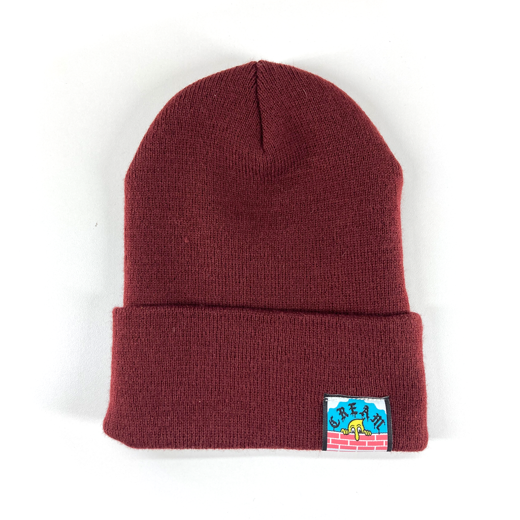 """Power Veggies"" - Maroon Beanie"
