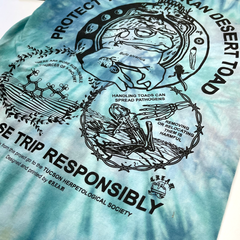 """Protect the Toad"" - Aquarius Tie-Dye Tee"