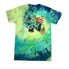 """Keep on Stompin'"" - Tie-Dye Unisex Tee"