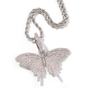 Icy Butterfly Necklace