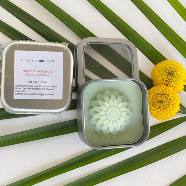 Foot Lotion Bar (with Tea Tree EO)