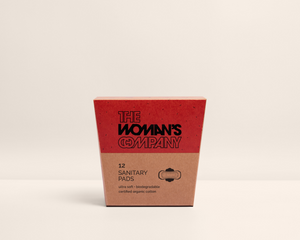 Biodegradable Sanitary Pads by The Woman's Company