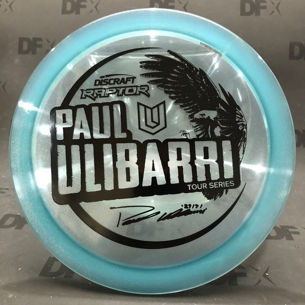 Discraft Z Metallic Raptor (Paul Ulibarri Tour Series)