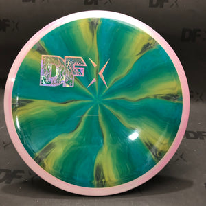 Axiom Cosmic Neutron Insanity - DFX Stamp