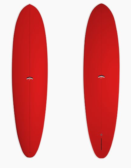 CJ NELSON OUTLIER 7'6 - RED XEON