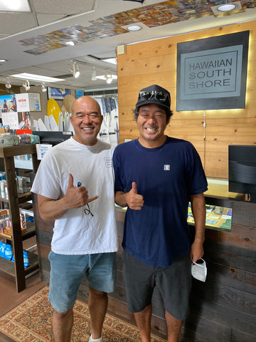 Thunderbolt Technology Surfboards Master at Hawaiian South Shore