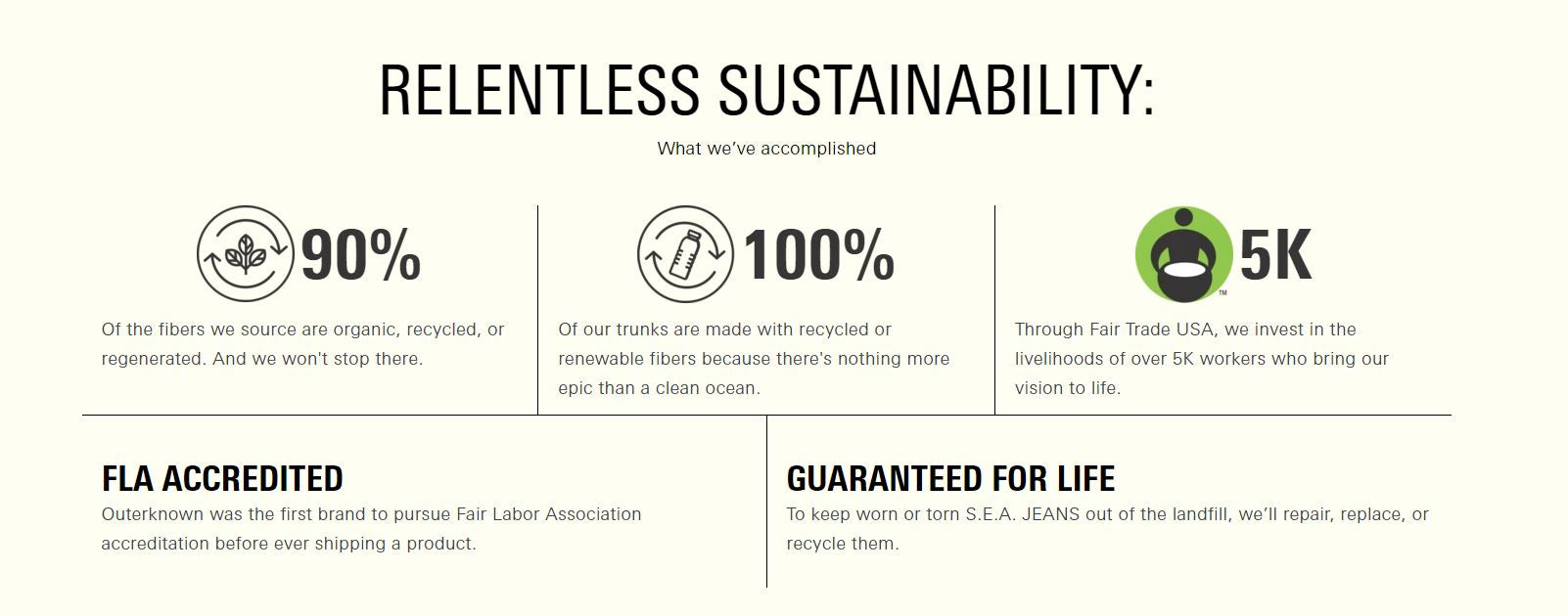 OUTERKNOWN By Kelly Slater Sustainability Clothing
