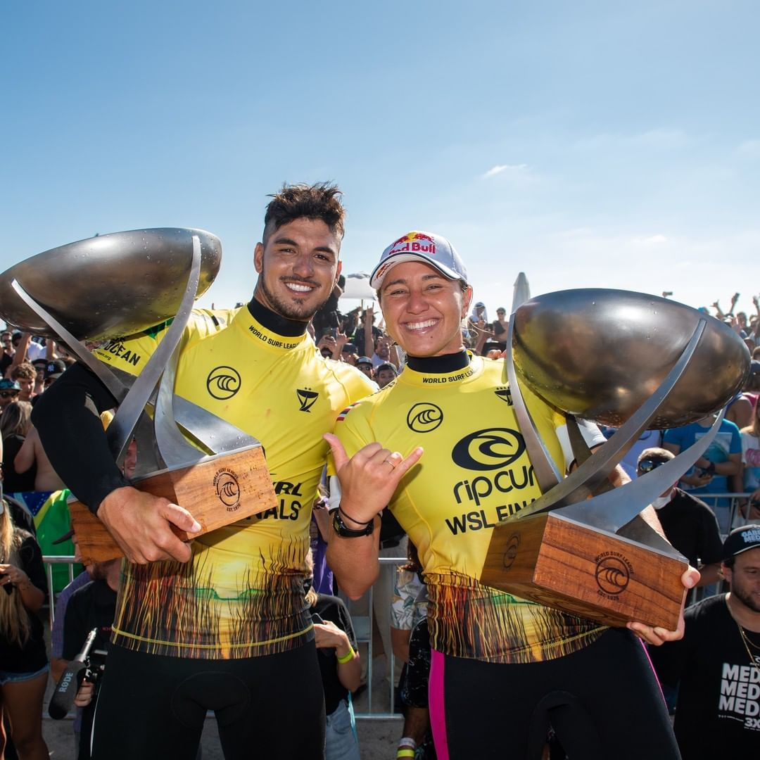 Carissa Moore and Gabriel Medina Reset the Balance With Well-Deserved World Titles Hawaiian South Shore