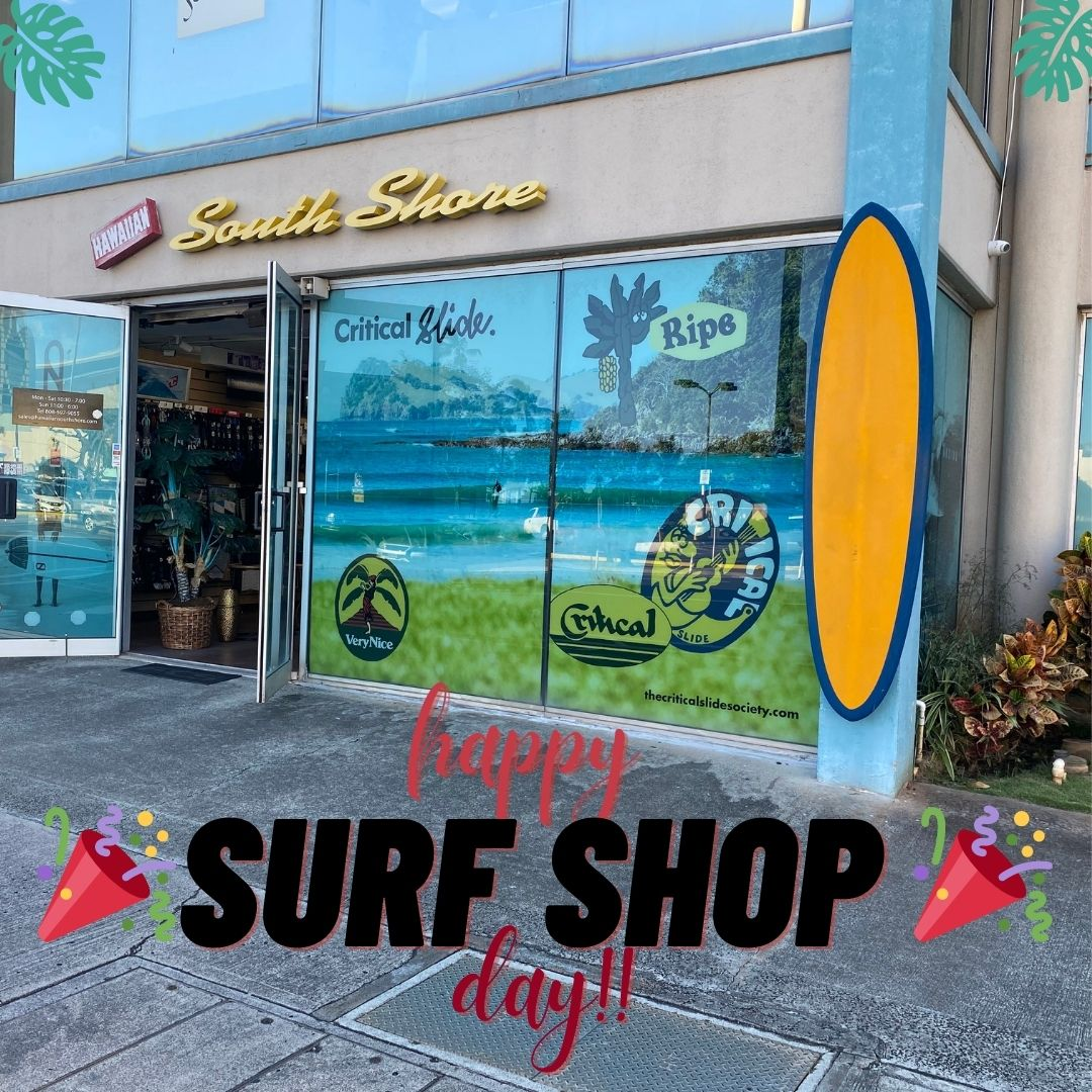 Happy Surf Shop Day 2021