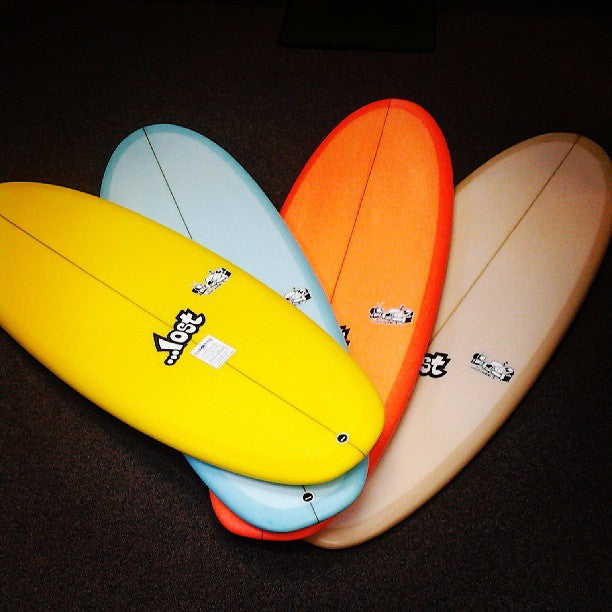 Hawaiian South Shore and Lost Surfboards