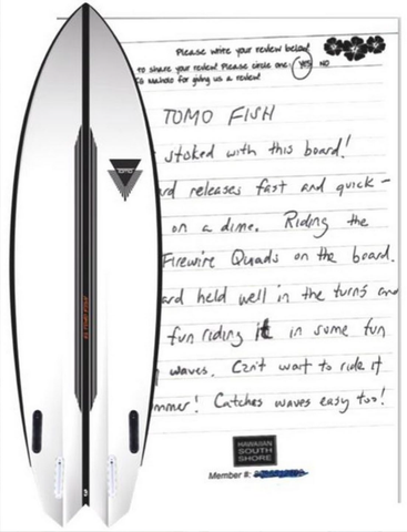 VIP CUSTOMER Surfboard Review