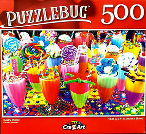 Colorful Sugary Shakes Jigsaw Puzzle