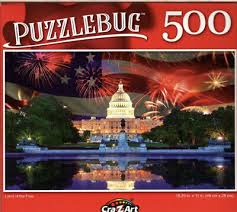 Land of the Free, 500 Piece Puzzle