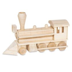 Darice Wood Model Kit - Steam Engine