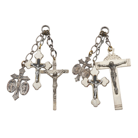 Vintage Crucifix Ear Weights