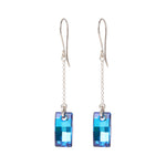 Swarovski Urban Pendant Bermuda Blue Earrings