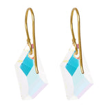 Swarovski AB Crystal De-Art Earrings