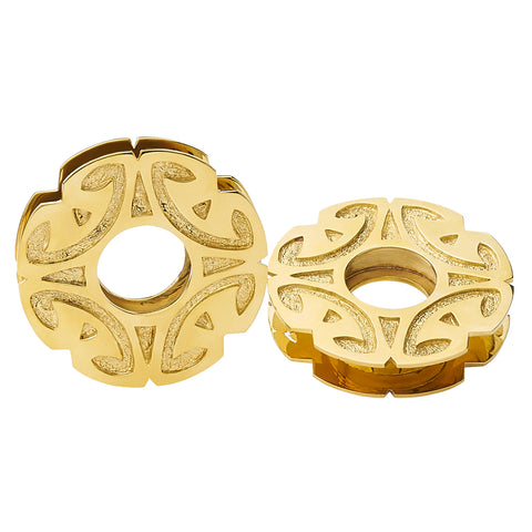 Solid Brass Ban Chiang Adz Spools