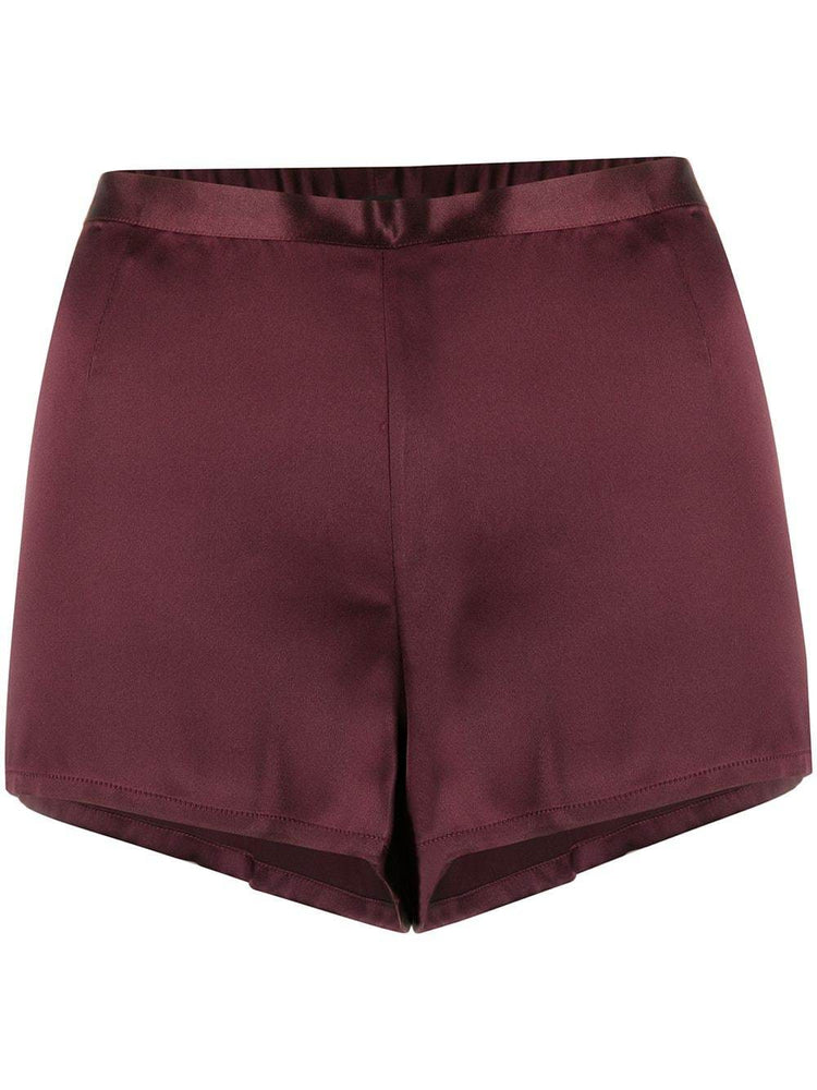 SHORT - SILK REWARD - BURGUNDY