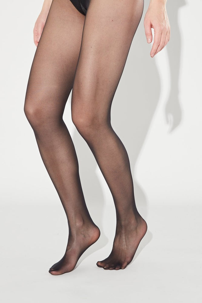 COLLANTS - BASIC PANTYHOSE - BLACK