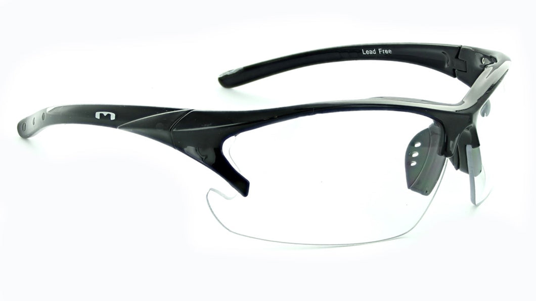 Laser Clear - Clear High Impact Cycle / Moto Sunglasses