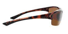Load image into Gallery viewer, Mauzer - Polarized Half-Frame Sports Wrap Adventure Sunglasses