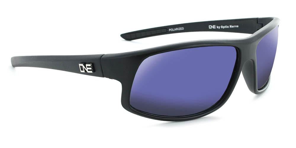 Rapid - Polarized Sport Wrap Sunglasses with Extended Peripheral Vision