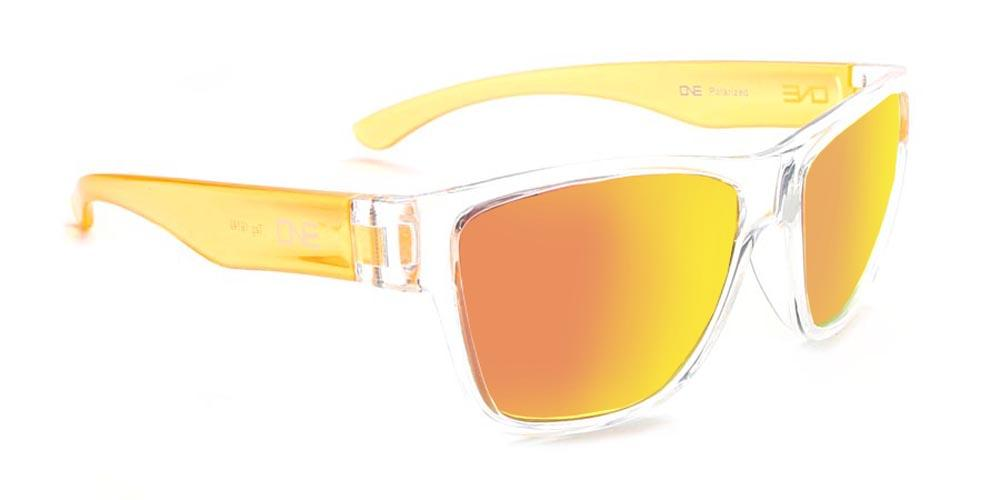 Kids Tag - Two Toned Polarized Retro Colourful Sunglasses