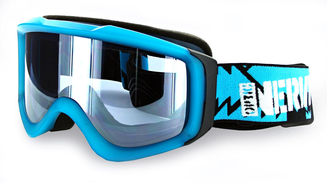 Galactic Flash Ski / Snow Goggles with 80s BumBag  Case