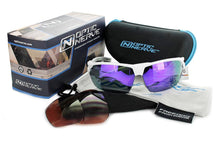Load image into Gallery viewer, Tach Polarized - High Performance Interchangeable Vented Sports Sunglasses