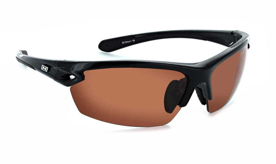 Voodoo - Golf - Silver / Copper Lens Interchangeable Wrap Sunglasses