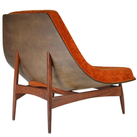 James Donahue Winnipeg Chair, Wooden Base, via 1stdibs