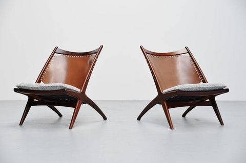 Fredrik Kayser Krysset or Cross Chair, via 1stdibs.