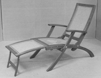 Kaare Klint Deck Chair with Footrest