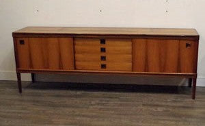 H.W. Klein for Bramin rosewood sideboard, at Vintage Home Boutique