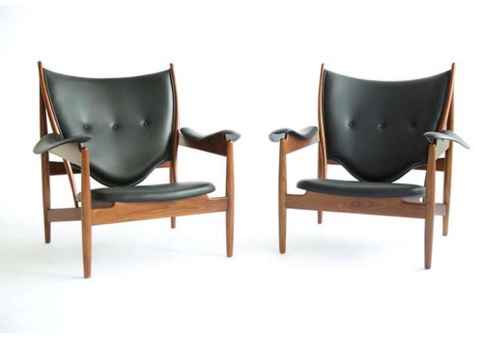 Chieftain Chair by Finn Juhl, manufactured by Baker Furniture
