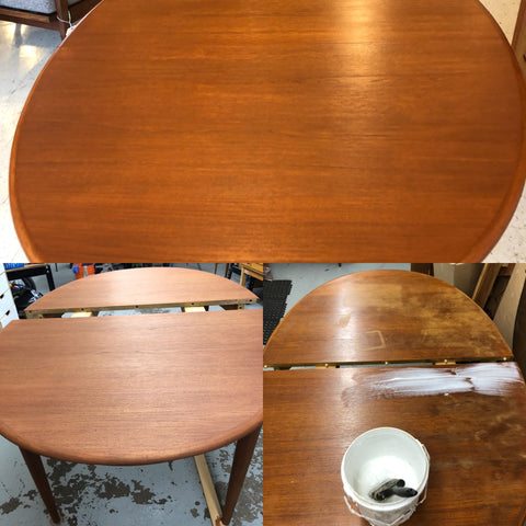 Dining Table Before, During And After